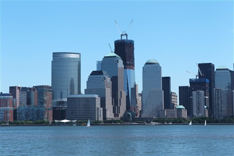 Jersey City View of Manhattan