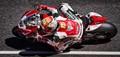 Ducati 1199 Panigale in British Superbike Championship in 2013. Ridden by Italian rider Matteo Baiocco