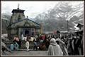 Shot at Kedarnath temple.