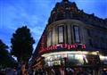 Shining movie theater!
