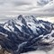 Eiger: Taken from the Jungfraubahn railway ascent to Jungfrau, Switzerland