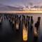 Princes Pier At Sunset