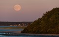 Moonrise over Cape Ann