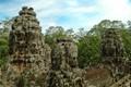 Bayon buddhist temple at Angkor Thom - Cambodgia