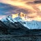 Tibet- Everest at sunset