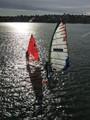 Sail boarding