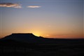 square butte sunrise
