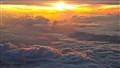 Sunrise over Seychelles paradise