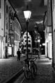 Empty street Freiburg