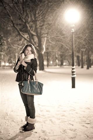 Merlin - First snowfall
