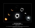 Composite of 2017 total solar eclipse photographed from the String Lake picnic ground in Grand Teton National Park on August 21, 2017.