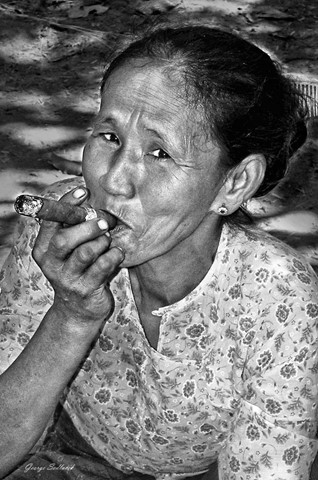 I like smoking  BURMA