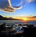 Sunset in Punta del Hidalgo