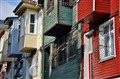 colorful buildings of Istanbul
