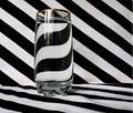 A glass of water with a twist