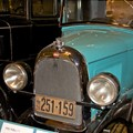 This is a 1926 Willys automobile (made in Canada) as displayed at the Canadian Automobile Museum, Oshawa, Ontario.