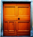 yellow door-