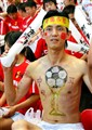 Chinese football fan