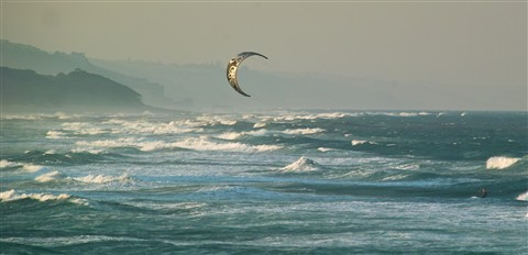 Kite-Surfing , Umhlanga Rocks , South Africa