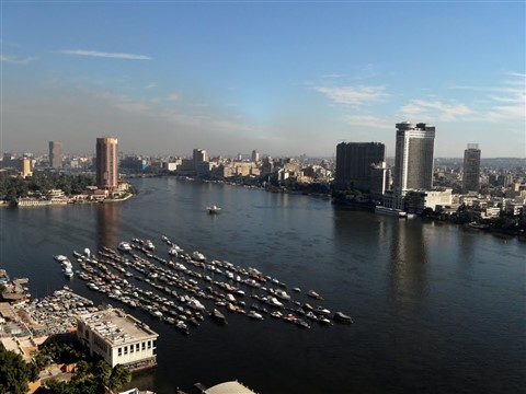 Cairo & River Nile from Giza