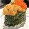Uni topped with Ikura