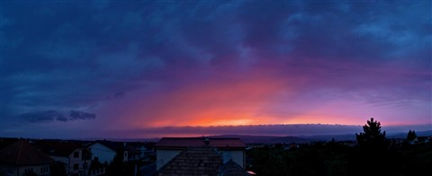 Sky on fire - lr