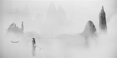 Li River, Winter