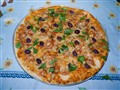 Pizza grana padano