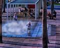 Life around the fountain