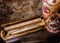 Wood Snake Coffin Incense Box