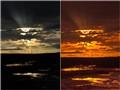Sunset at Norris Geyser Basin, Yellowstone National Park