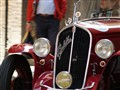 "On a street in Siena...a ""little boy"" in the Mille Miglia"