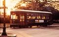 New Orleans Street car on St. Charles