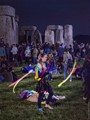 Stonehenge - the night before the Summer Solstice