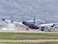 """Connie"" Spy Plane Lands in Chino, CA"