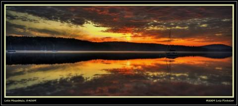 Lake Massabesic, 5:40AM
