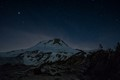 Lamberson Butte at night
