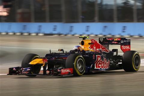 Mark Webber, Singapore F1 2012