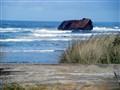 shipwreck on OR coast