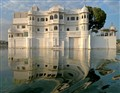 Surrealist Touch on Lake Pichola