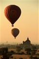 Amazing sunrise over Bagan, Myanmar