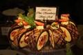 Choc strawberry swiss roll