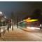 Cité universitaire - extérieur nuit