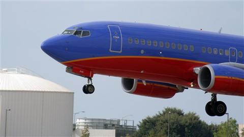 Landing in Austin Bergstrom Airport