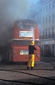 Bus fire, Oxford