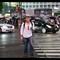 Ignoring the rules, Shibuya Crossing, Tokyo