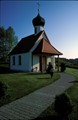 Small church in a village near Hersshing (Germany)