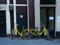 The yellow bikes