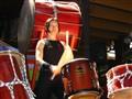 Drummer-brunette