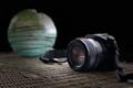 Camera and Gazing Ball